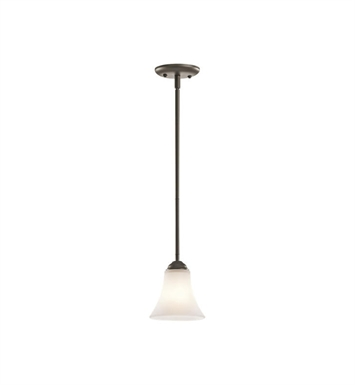 Kichler 43511OZ Keiran 1 Light Mini Pendant in Olde Bronze