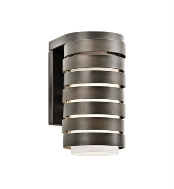 Kichler 49209OZ Roswell 1 Light Outdoor Wall Light in Olde Bronze