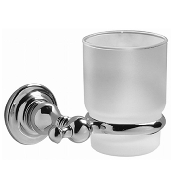 Graff G-9002-PN Tumbler and Holder With Finish: Polished Nickel