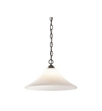 Kichler 43510OZ Keiran 1 Light Pendant in Olde Bronze