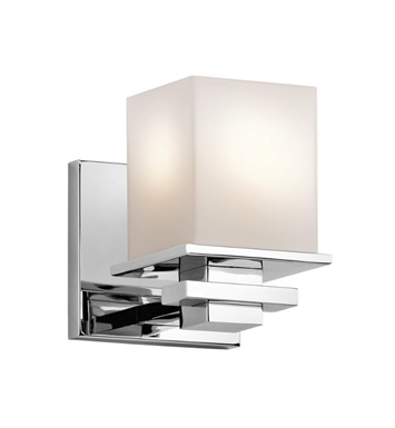 Kichler 45149CH Tully 1 light Wall Sconce in Chrome