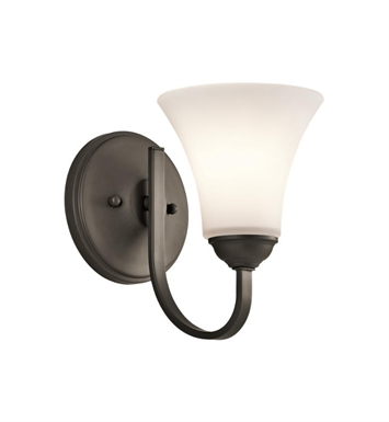 Kichler 45504OZ Keiran 1 Light Wall Sconce in Olde Bronze