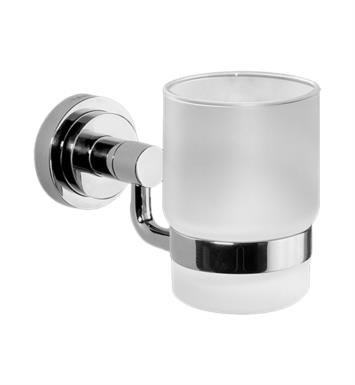 "Graff G-9142-PC 2 1/8"" Wall Mount Tumbler and Holder With Finish: Polished Chrome"