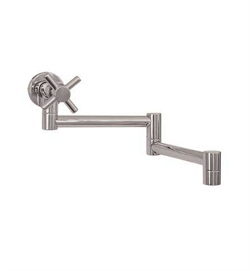 Whitehaus WH33-515-C Decohaus Single Handle Wall Mount Pot Filler