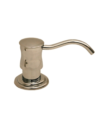 Whitehaus WHSD45N Solid Brass Soap/Lotion Dispenser