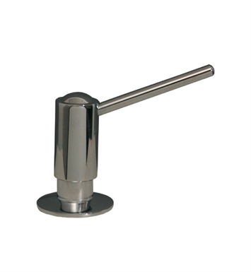 Whitehaus WH1141N-BN Luxe Solid Brass Soap/Lotion Dispenser With Finish: Brushed Nickel