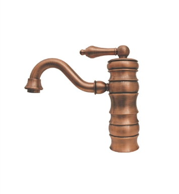 Whitehaus WHVEG3-1095-ACO Vintage III Single Handle Bar Faucet With Finish: Antique Copper