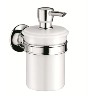 "Hansgrohe 42019820 Axor Montreux 2 7/8"" Soap Dispenser With Finish: Brushed Nickel"