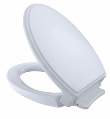 "TOTO SS154#03 SoftClose 14"" Elongated Traditional Toilet Seat With Finish: Bone"