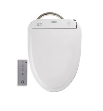 TOTO SW574 Elongated Washlet® S300e Toilet Seat with ewater+