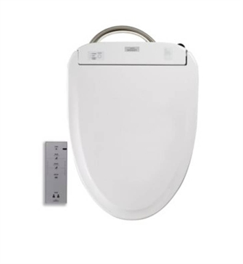 TOTO SW583#01 Round Washlet® S350e Toilet Seat with ewater+ With Finish: Cotton