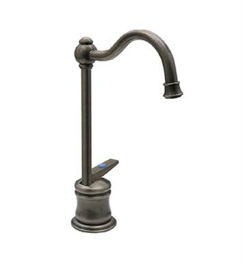 Whitehaus WHFH3-C56 Point of use drinking water faucet with traditional spout and self closing handle