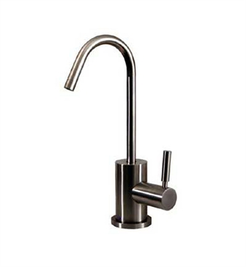 Whitehaus WHFH-C1403STS Point of use drinking water faucet with gooseneck spout