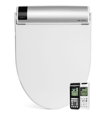 BioBidet BB-2000 Premier Class Bliss Bidet Toilet Seat with Touch Screen Panel Control and Wireless Remote Control