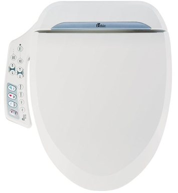 BioBidet BB-600 Ultimate Luxury Class Bidet Toilet Seat with Side Control Panel