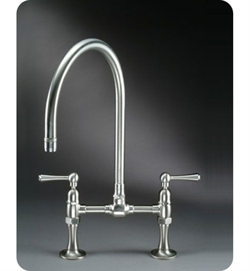 Jaclo 1018 Steam Valve Deck Mount Bridge Kitchen Faucet
