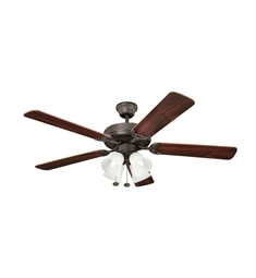 Kichler 402SNB Indoor Ceiling Fan with 5 Blades and Downrod