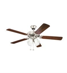 Kichler 402NI7 Indoor Ceiling Fan with 5 Blades and Downrod