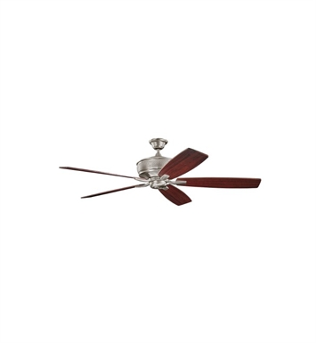 "Kichler 300106BAP Monarch 70"" Indoor Ceiling Fan with 5 Blades with Cool-Touch Remote and Downrod"
