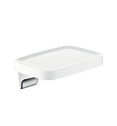 Hansgrohe 42671400 Axor Bouroullec Wall Mounted Shelf, Small