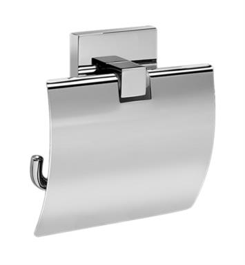 "Graff G-9105-SN 4 7/8"" Wall Mount Tissue Holder with Cover With Finish: Steelnox (Satin Nickel)"