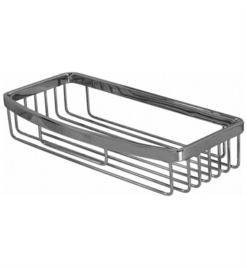 Graff G-9011-BNi Square Shower Basket With Finish: Brushed Nickel