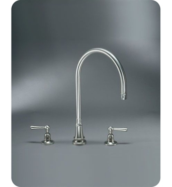 Jaclo 1031 Steam Valve Three Hole Deck Kitchen Faucet