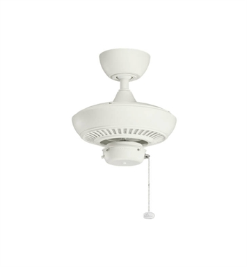 "Kichler 320500SNW Climates 52"" Outdoor Ceiling Fan Less Blades and Downrod"