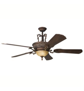 "Kichler 300008BKZ Kimberley 5 Blades 60"" Indoor Ceiling Fan in Berkshire Bronze"