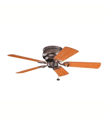 "Kichler 339017OBB Stratmoor 42"" Indoor Ceiling Fan with 5 Blades"