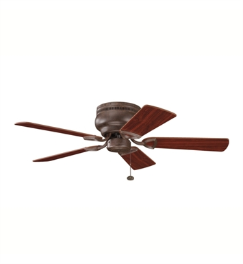 "Kichler 339017TZ Stratmoor 42"" Indoor Ceiling Fan with 5 Blades"