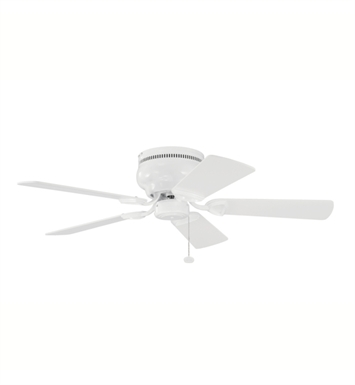 "Kichler 339017WH Stratmoor 42"" Indoor Ceiling Fan with 5 Blades"