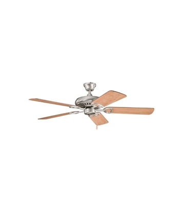"Kichler 339011AP Sutter Place 52"" Indoor Ceiling Fan with 5 Blades and Downrod"