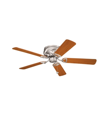 "Kichler 339022BSS Stratmoor 52"" Indoor Ceiling Fan with 5 Blades"