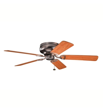 "Kichler 339022OBB Stratmoor 52"" Indoor Ceiling Fan with 5 Blades"