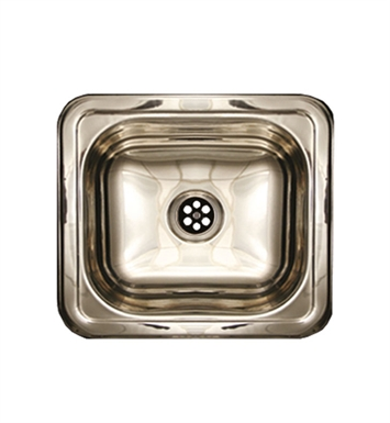 Whitehaus WH693ABL Rectangular Drop-in Entertainment/Prep Sink with a Smooth Surface