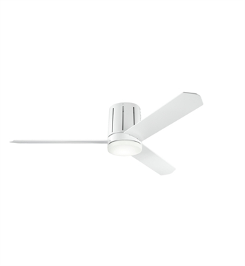 "Kichler 300151WH Innes 52"" Indoor Ceiling Fan with 3 Blades, Cool-Touch Remote and Light Kit"