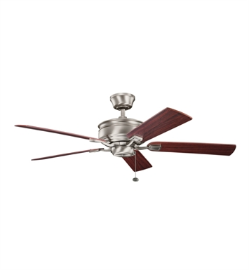 "Kichler 300178AP Duvall 52"" Indoor Ceiling Fan with 5 Blades and Downrod"