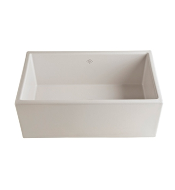 Rohl MS3018BS Shaws Apron Front Fireclay Kitchen Sink in Biscuit