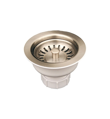 "Whitehaus RNW35-C 3 1/2"" Basket Strainer for Deep Fireclay Application With Finish: Polished Chrome"