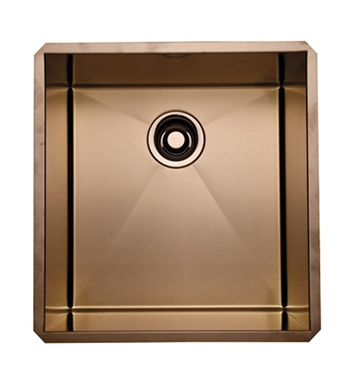 Rohl RSS1718SC Stainless Steel Kitchen or Bar/Food Prep Sink in Stainless Copper