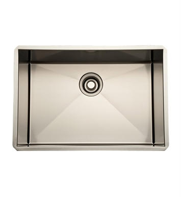 Rohl RSS2416SB Stainless Steel Kitchen Sink in Brushed Stainless Steel Finish