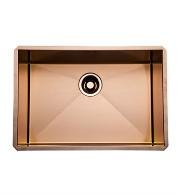 Rohl RSS2416SC Stainless Steel Kitchen Sink in Stainless Copper Finish