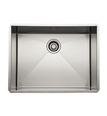 Rohl RSS2418SB Stainless Steel Kitchen Sink in Brushed Stainless Steel Finish