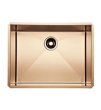 Rohl RSS2418SC Stainless Steel Kitchen Sink in Stainless Copper Finish