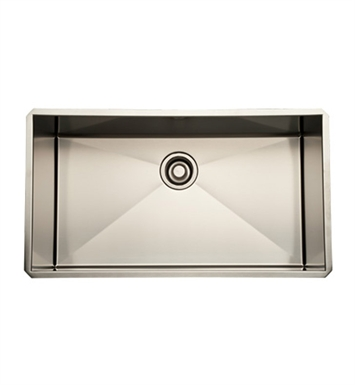 Rohl RSS3016SB Stainless Steel Kitchen Sink in Brushed Stainless Steel Finish
