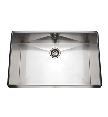 Rohl RSS3018SB Stainless Steel Kitchen Sink in Brushed Stainless Steel Finish