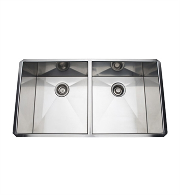 Rohl RSS3518SB Stainless Steel Kitchen Sink