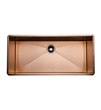 Rohl RSS3616SC Stainless Steel Kitchen Sink in Stainless Copper Finish