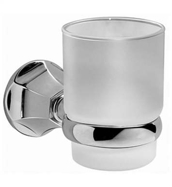 Graff G-9062-PC Tumbler and Holder With Finish: Polished Chrome